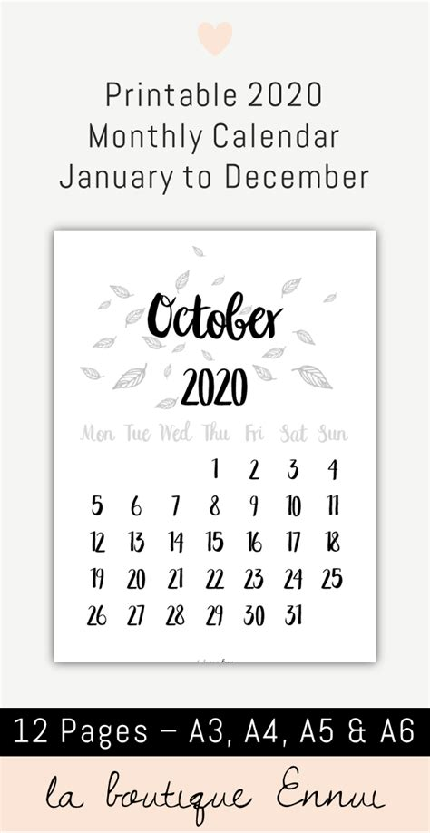 printable  monthly calendar  black  white  month wall calendar  month  page
