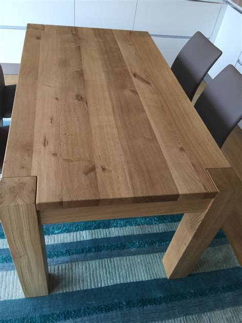 tavoli in legno massello allungabili tavolo in rovere massello 160x90 allungabile 260 tavoli