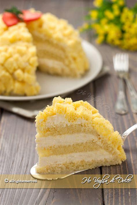 bagna per torta mimosa torta mimosa ricetta classica ho voglia di dolce