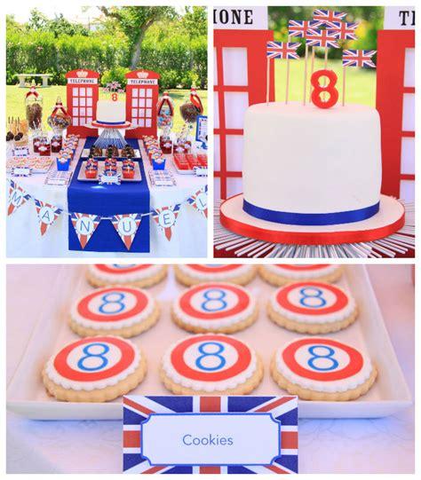 london birthday themes london themed birthday party via kara s party ideas