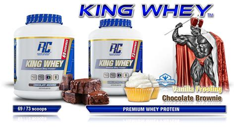 Whey Protein Rc King Whey 5 Lbs By Ronnie Coleman Signature Series king whey 5lb 25g protein per scoop