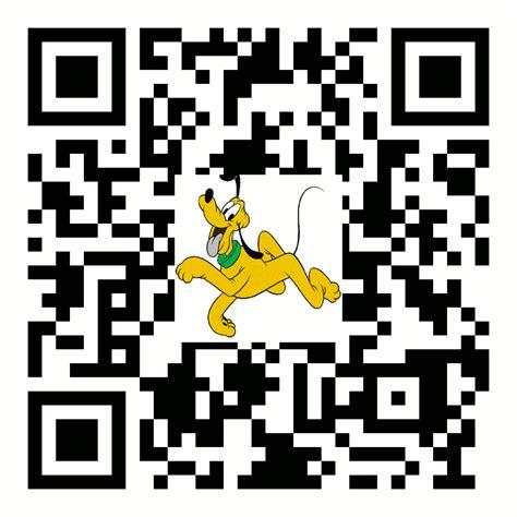 Meme Qr Code - 3d qr code animated gif walt disney pluto by