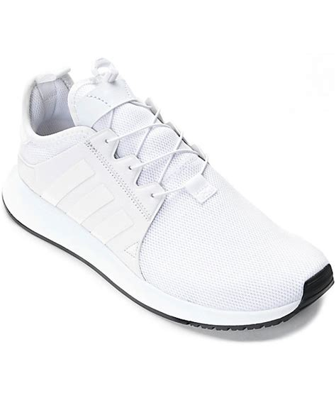adidas xplorer all white shoes at zumiez pdp
