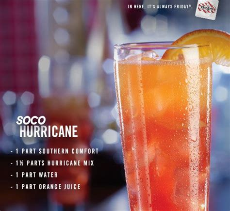 southern comfort hurricane drink southern comfort mixed drink recipes