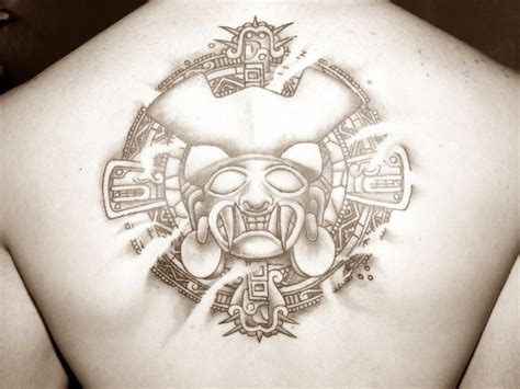 aztec god tattoos aztec gods tattoos 406 tatto god tattoos
