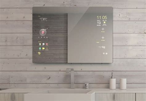 smart mirror bathroom touchscreen android smart mirror for your bathroom connected crib