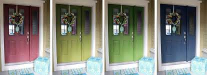 how to a front door color worth pinning changing the color of the front door