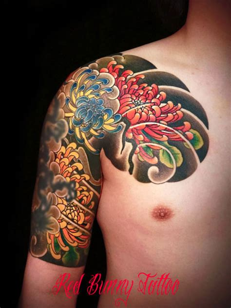 kiku tattoo tattoos by kiku pictures to pin on tattooskid