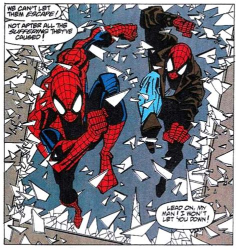 spiderman and his tattooed clone 132 best images about spider team up on