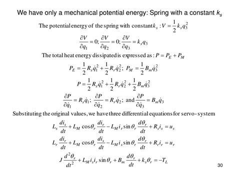 lagrange equations  kinetic  potential energy