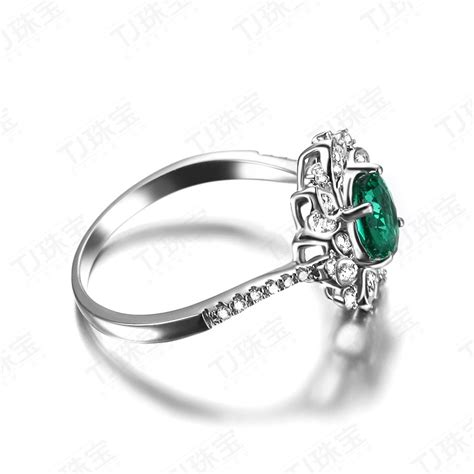 antique floral 1 50 carat emerald and engagement