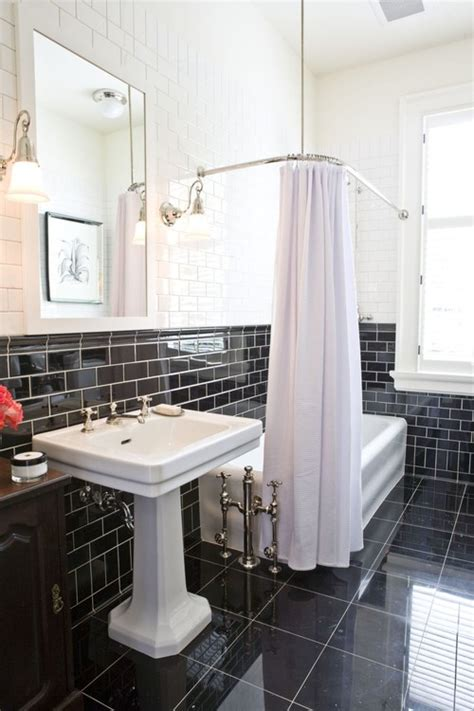 how to shine bathroom tiles why would any designer put shiny tile on a bathroom floor