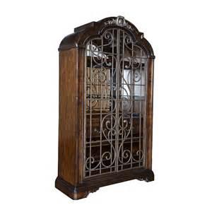 Wine Bar Curio Cabinet A R T Furniture 209242 2304 Valencia Wine Cabinet Atg
