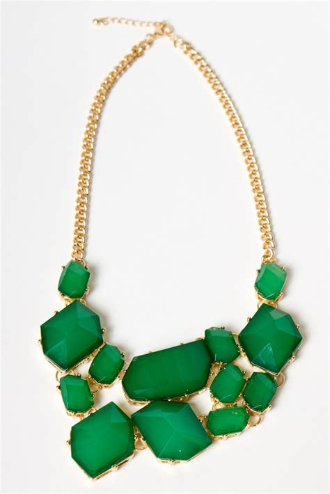 green necklace gorgeous green necklace my wishlist