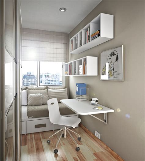 small bedroom desks 50 thoughtful teenage bedroom layouts digsdigs