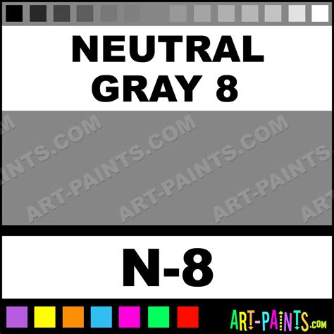 N 8 Grey neutral gray 8 sketch paintmarker marking pen paints n 8