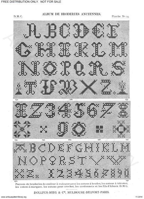 antique pattern library dmc apl c ik001 dmc old cross stitch page 30