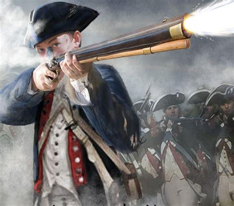 revolutionary war tattoo continental soldiers in battle american revolution