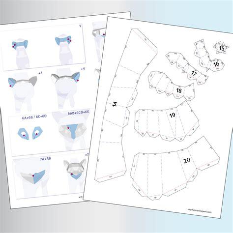 Www Papercraft Au - papercraft cats of cats 2 pdf patterns paper