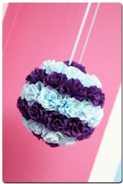How To Make Crepe Paper Flower Balls - 20 diy crepe paper flowers with tutorials guide patterns
