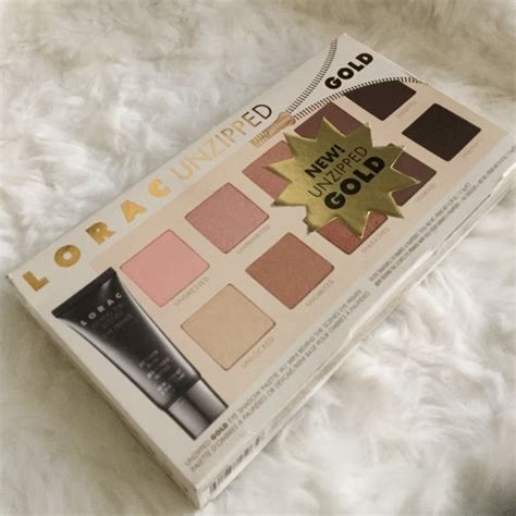 Lorac Unzipped Gold lorac lorac unzipped gold eyeshadow palette from j s