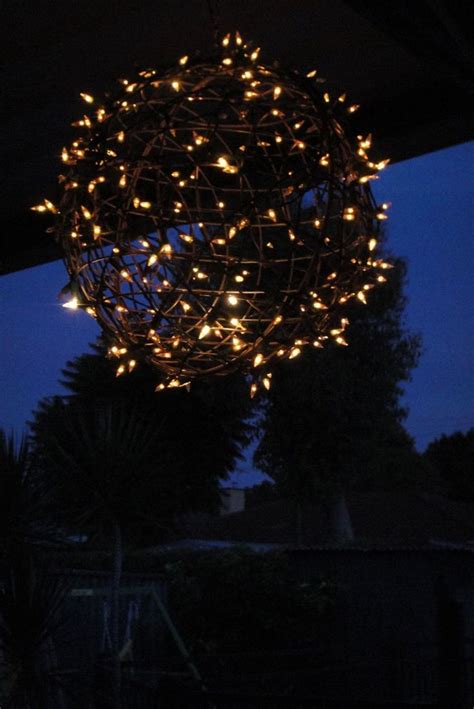 diy outdoor lighting without electricity lighting ideas hanging lights covered