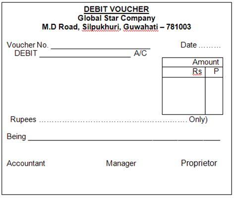 Debit Credit Voucher Format In Word Debit Note Format Images