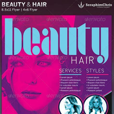 hair salon flyer template 30 best spa and hair salon flyer templates