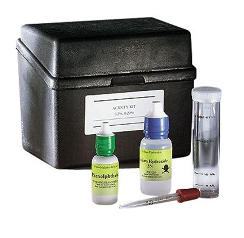 lamotte liquid sanitizer strength verification kits qac test from cole parmer