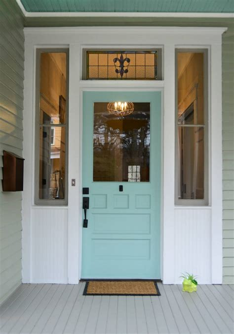 painted front door paint the front door 10 helpful tips