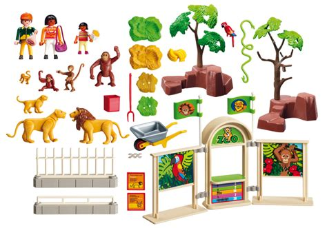 Playmobil Large Zoo playmobil set 5969 usa large zoo klickypedia