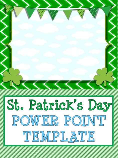 design a st template st s day power point template
