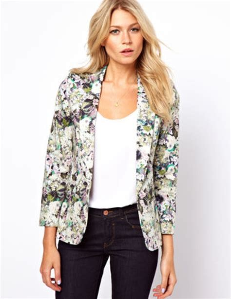 Cheap Home Decor Websites by Asos Oasis Floral Blazer Saved By Chic N Cheap Livig