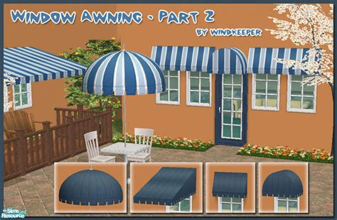 sims 3 awning windkeeper s window awning part 2