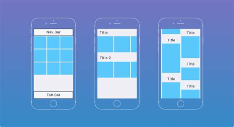 Layout Collection View | ios tutorials ui sizes layouts