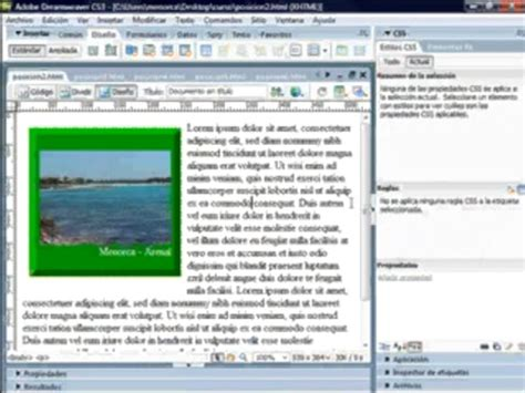 tutorial de dreamweaver en pdf 4 editar una pagina tutorial dreamweaver
