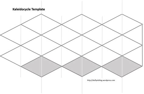 printable kaleidocycle template colouring pages duffy stirling s teaching stuff