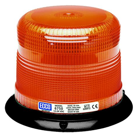 class 1 strobe light ecco 6750a led amber low profile strobe warning light