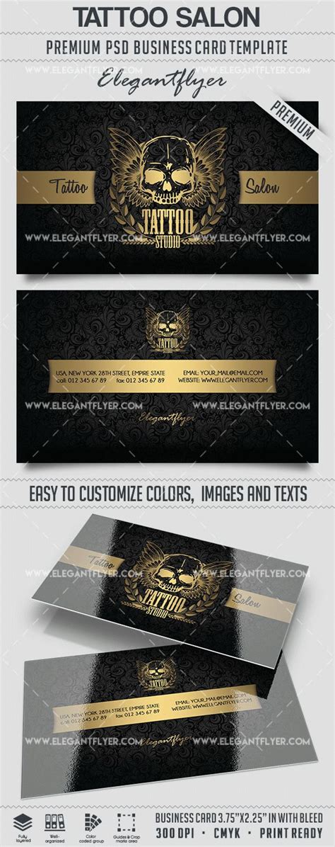 Salon Business Card Templates Psd by Salon Business Card Templates Psd By Elegantflyer