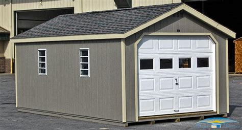 12 car garage 1 car prefab garage one car garage shed horizon structures