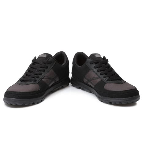 Skechers Size 7 by Skechers On The Go Overcome Black Womens Trainers Sneakers