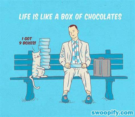 life    box  chocolates humor lol funny