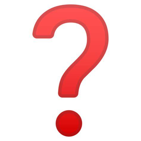 emoji question mark point d interrogation emoji