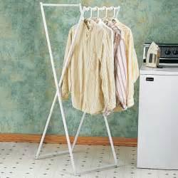 folding clothes rack clothing hanging racks kimball