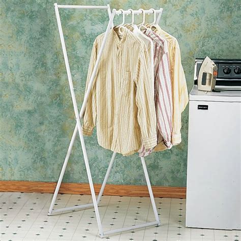 Folding Wardrobe Rack by Folding Clothes Rack Clothing Hanging Racks Kimball