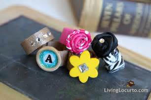 How to make duct tape amp fabric rings diy craft