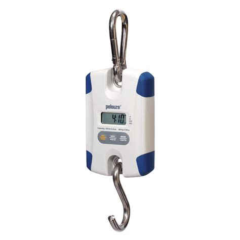 100 lb food rubbermaid pelouze 7710 100 lb digital hanging scale fg007710000000