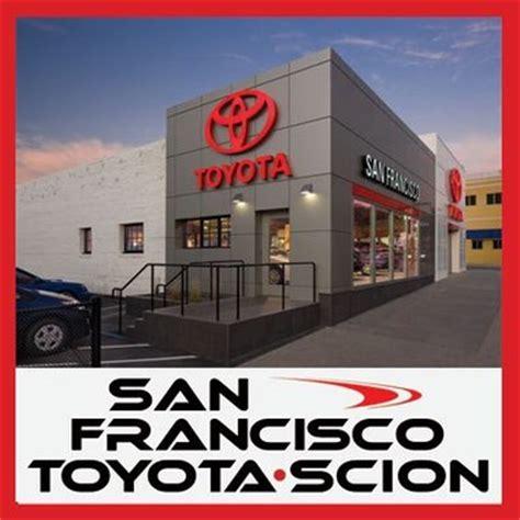 Toyota Dealer San Francisco San Francisco Toyota 3800 Geary Blvd San Francisco Ca