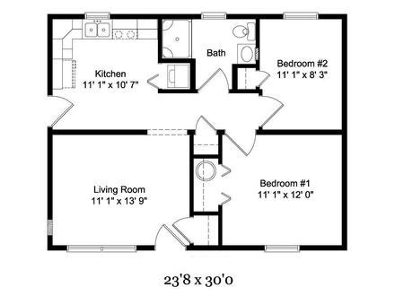Floor Plans Small Cottages by 2 Bedroom Cottage Interior 2 Bedroom Cottage Floor Plans