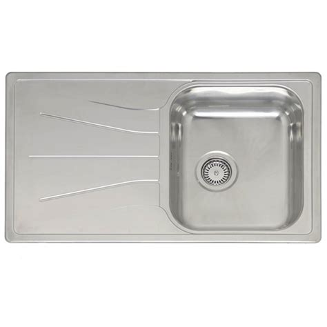 inset sinks kitchen stainless steel reginox elegance diplomat 10 stainless steel inset kitchen